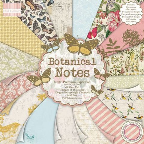 Dovecraft 8x8 - First Edition Botanical Notes